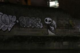 First bit of artistic graffiti