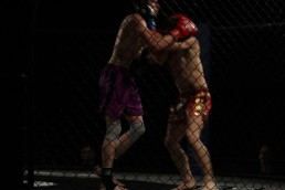 a bit of head grappling in the last round...think both were gassed but Jon was clearly showing his skills