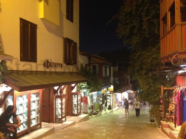 Kas at night...lovely little place and interesting shopping
