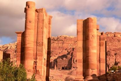 Ancient Tombs, City of Petra, Jordan
