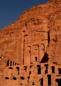 Ancient Tombs, City of Petra, Jordan