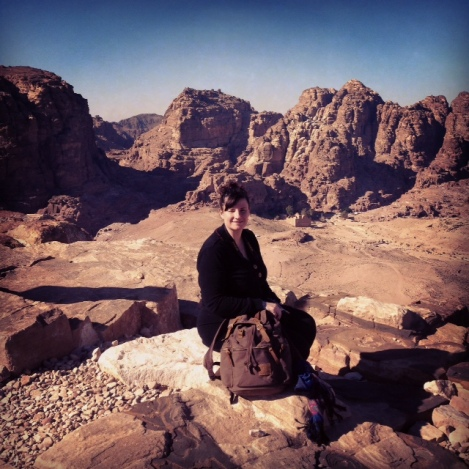 me high above the City of Petra