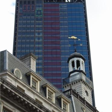 St Ethelburga's Centre & The Leadenhall Building, London