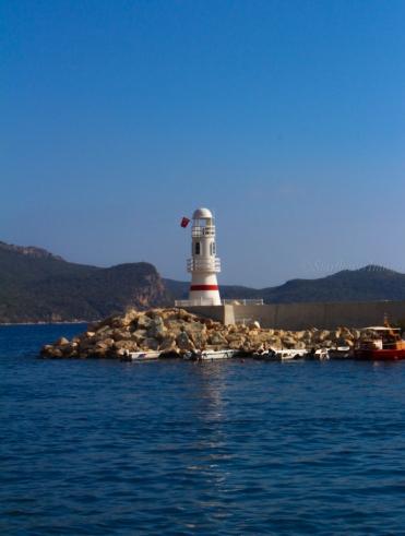 Kas Lighthouse, Turkey