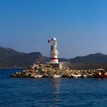 Kas Lighthouse, Turkey