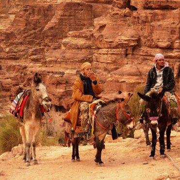 Bedouin youth, Petra