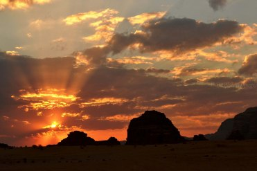 Wadi Rum Sunrise, Jordan