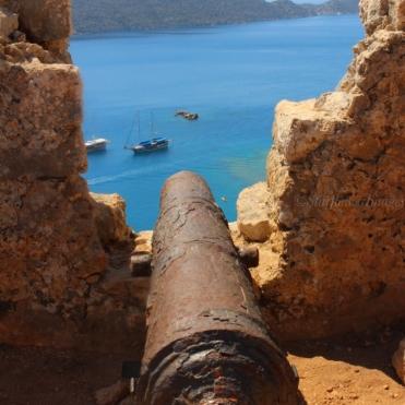 Silema Castle Canon